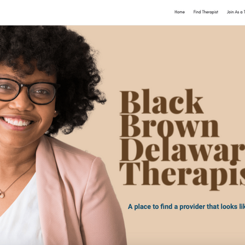 Black Brown Delaware Therapist