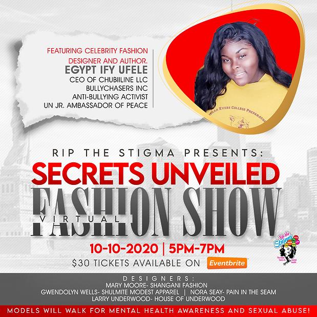 Secrets Unveiled Virtual Fashion Show sp