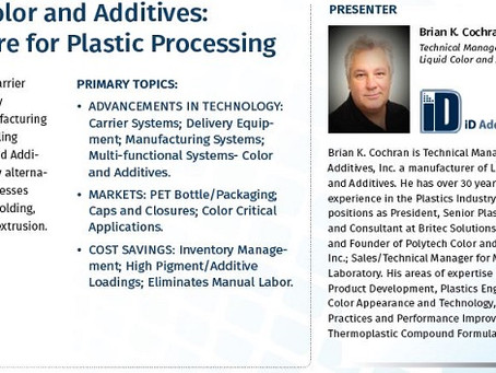 Liquid Color and Additives Webinar Available Online