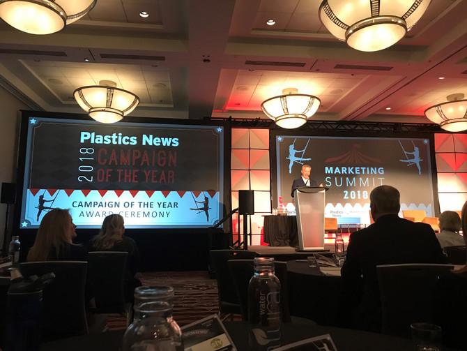 Plastics News-Marketing Summit and Women Breaking The Mold
