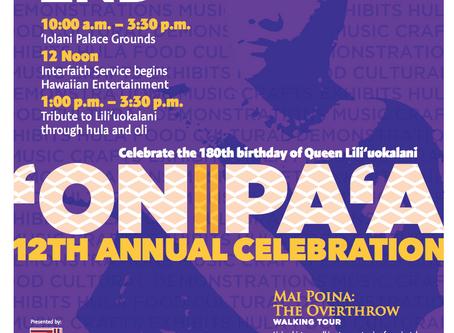 ʻONIPAʻA 12th Annual Celebration
