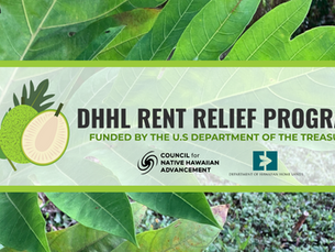 COUNCIL FOR NATIVE HAWAIIAN ADVANCEMENT TO ADMINISTER EMERGENCY RENTAL RELIEF TO DHHL BENEFICIARIES