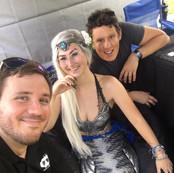Mermaiding at Lubee Bat Fest
