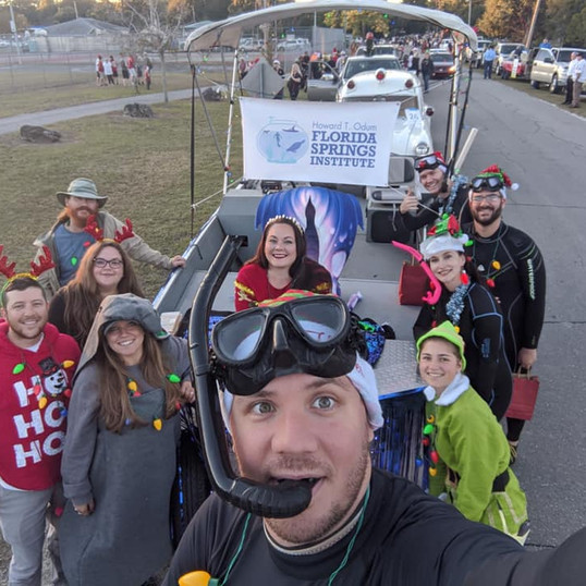 High Springs Xmas Parade with FSI