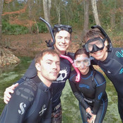 Group at Mermaid Spring