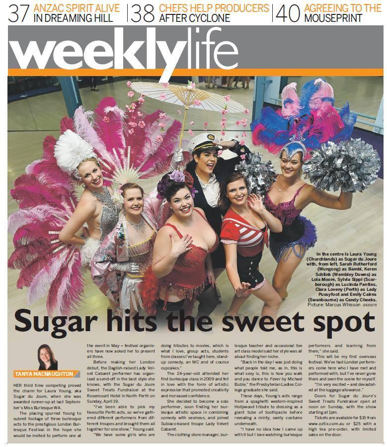 Sugar du Joure Newspaper