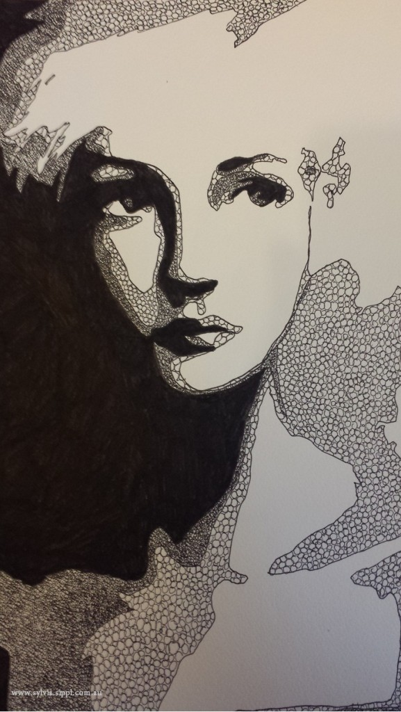 Untitled Pen Portrait