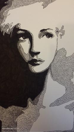 Untitled Pen Portrait
