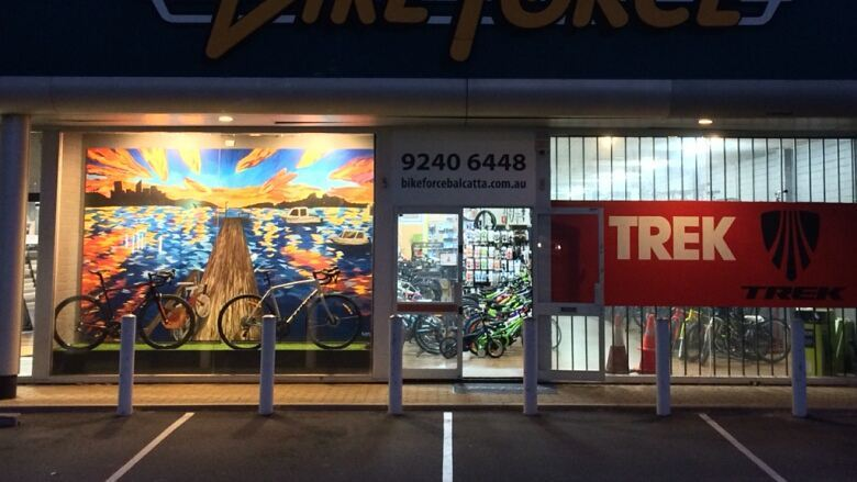 Bike Force Balcatta Mural
