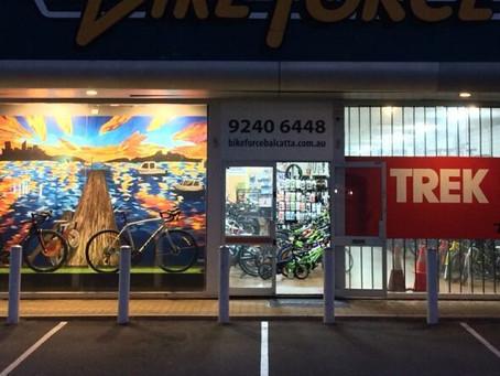 New Work: Bike Force Mural
