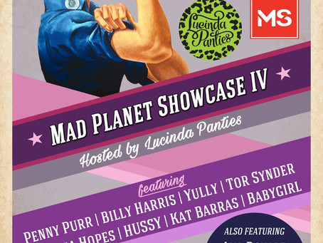 Mad Planet Showcase raising funds for the MS Society