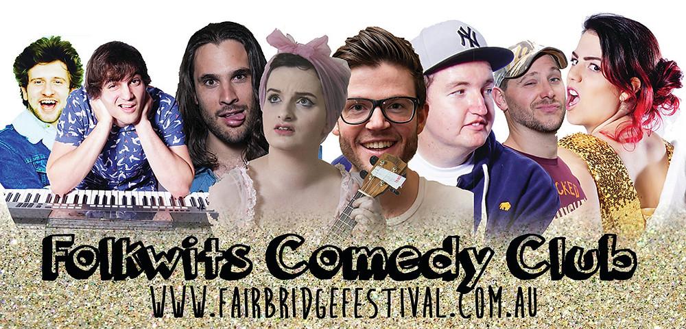Comedy at Fairbridge Festival