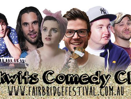 Folkwits Comedy at Fairbridge Festival