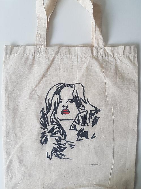 Fashion Model Calico Bag
