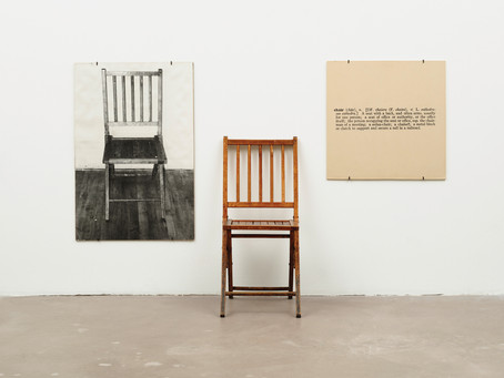 Uni Archive: Conceptual Art & Joseph Kosuth's One and Three Chairs