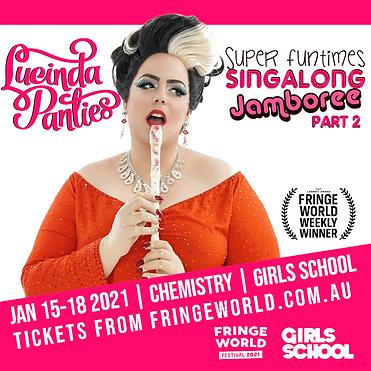 Lucinda Panties Super Funtimes Singalong