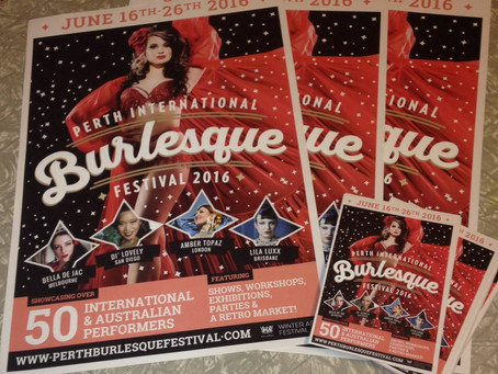 June is the month for Burlesque