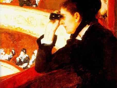 Uni Archive: Renoir's La Loge & Mary Cassatt's Woman in Black at the Opera