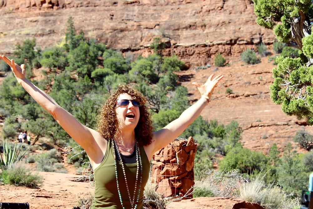 Tracy Rhinehardt from Yoga 108 in Sedona 2017