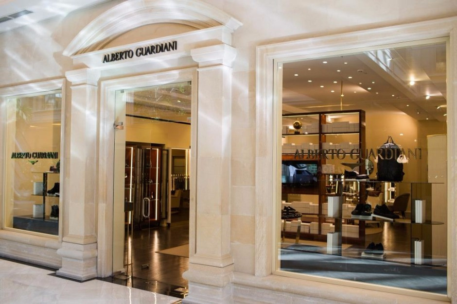 ALBERTO GUARDIANI Store, Moscow Russia
