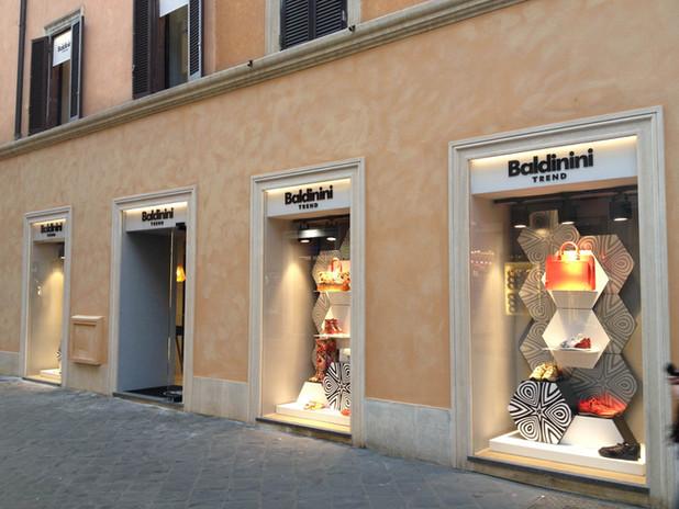 BALDININI TREND Store, Rome Italy
