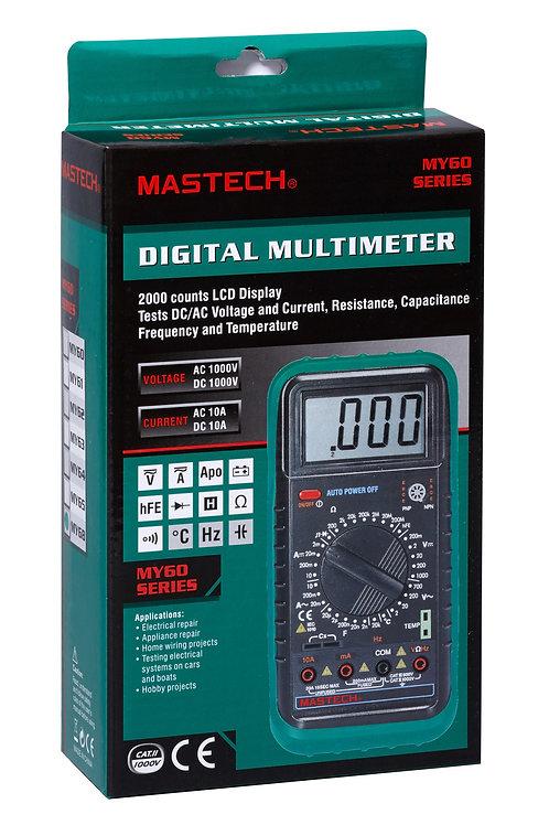 Мультиметр  MASTECH MY-68