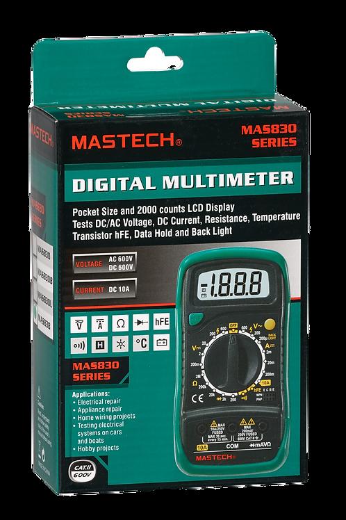 Мультиметр MAS-838