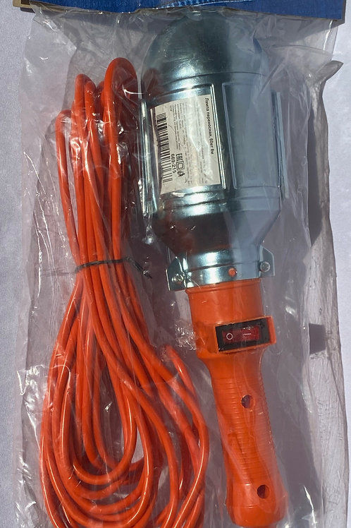 Переноска гаражная 220V с выключателем, 8м (Китай)