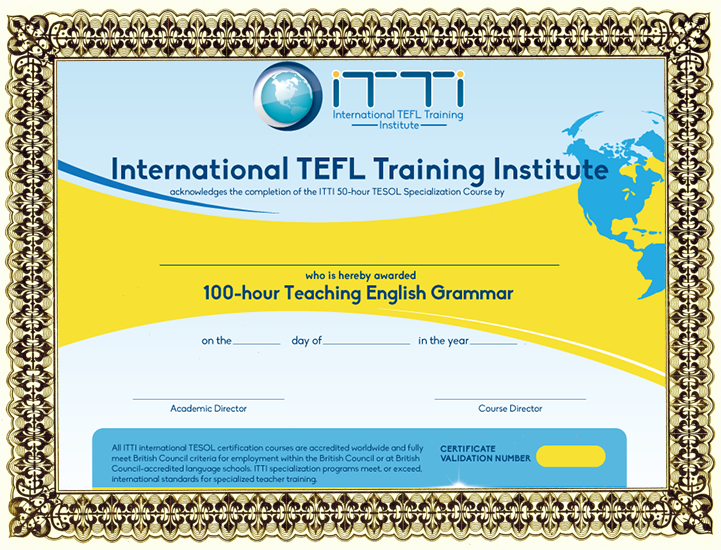 Itti New York Course Dates Fees