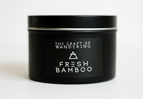 Fresh Bamboo Soy Candle