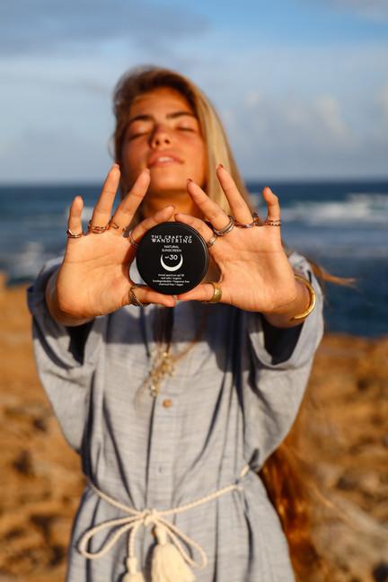 natural organic reef safe sunscreen.