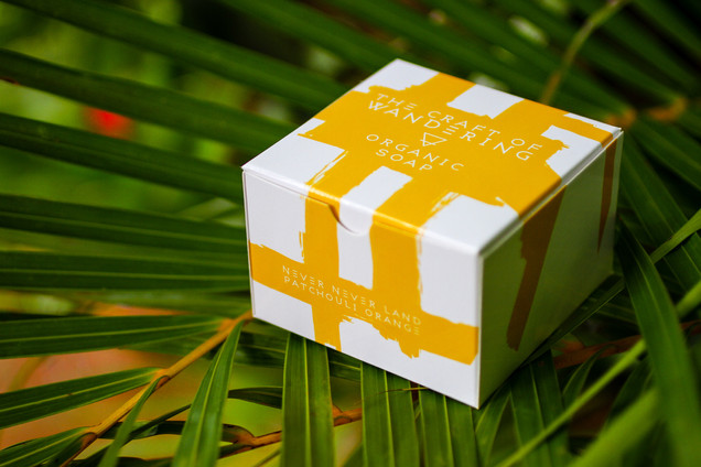 neverneverland patchouli orange soap