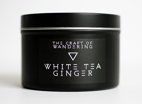 White Tea Ginger Soy Candle