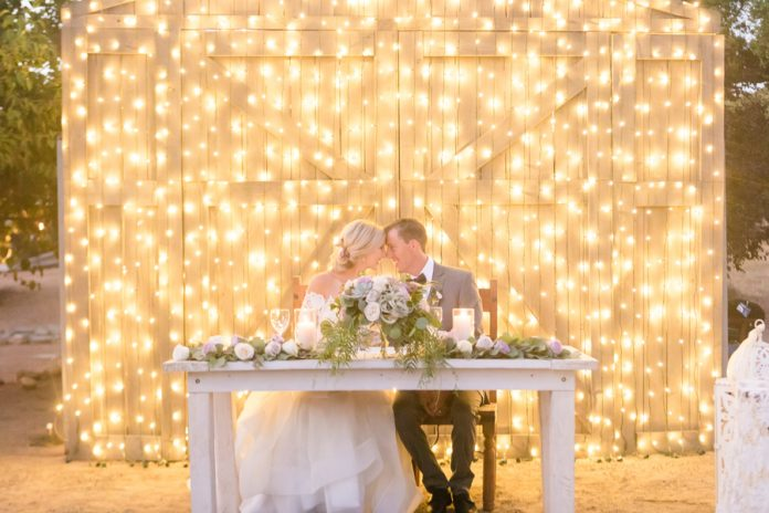 rustic light wall backdrop