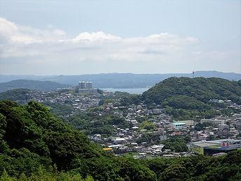 十郎原方面を望む眺望