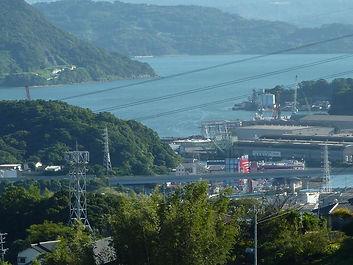 港の見える景色