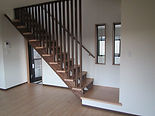 リビング階段 デザイン階段