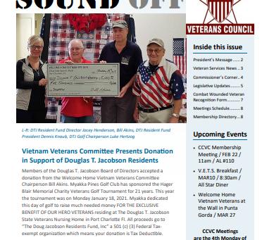 CCVC November Newsletter
