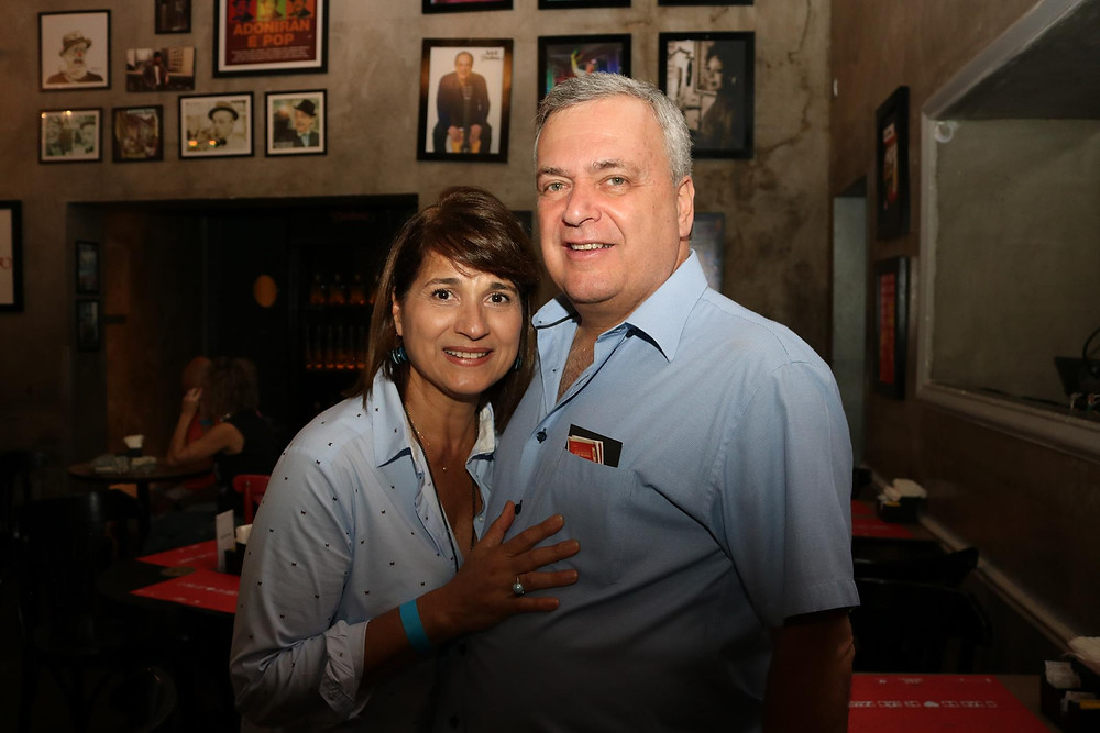 Wilton Pinto e Sofia