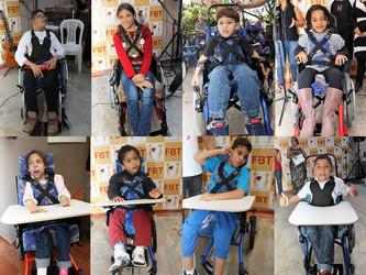 FBT entrega 15 cadeiras de rodas especiais e se torna ONG