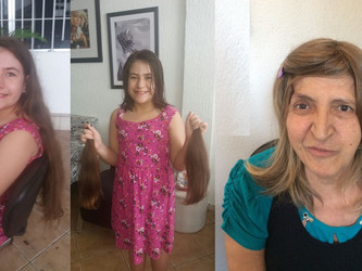 FBT doa perucas para mulheres em tratamento contra o câncer
