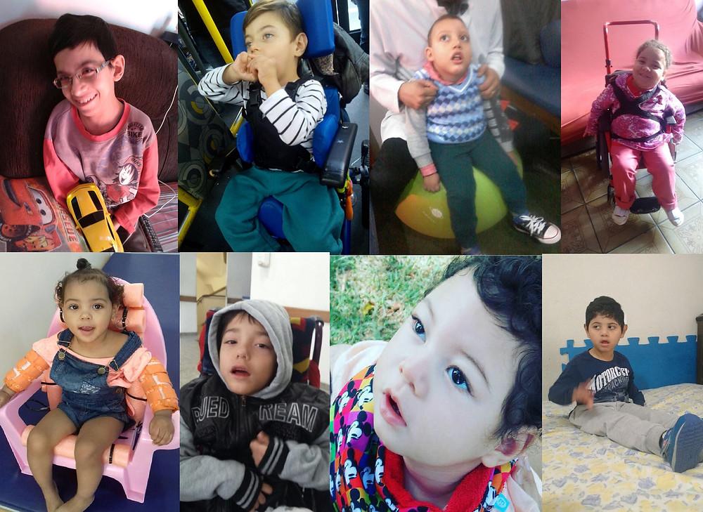 8 crianças beneficiadas