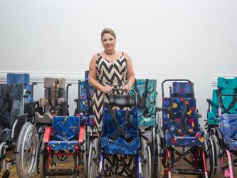 FBT beneficia 30 crianças com cadeiras de rodas adaptadas