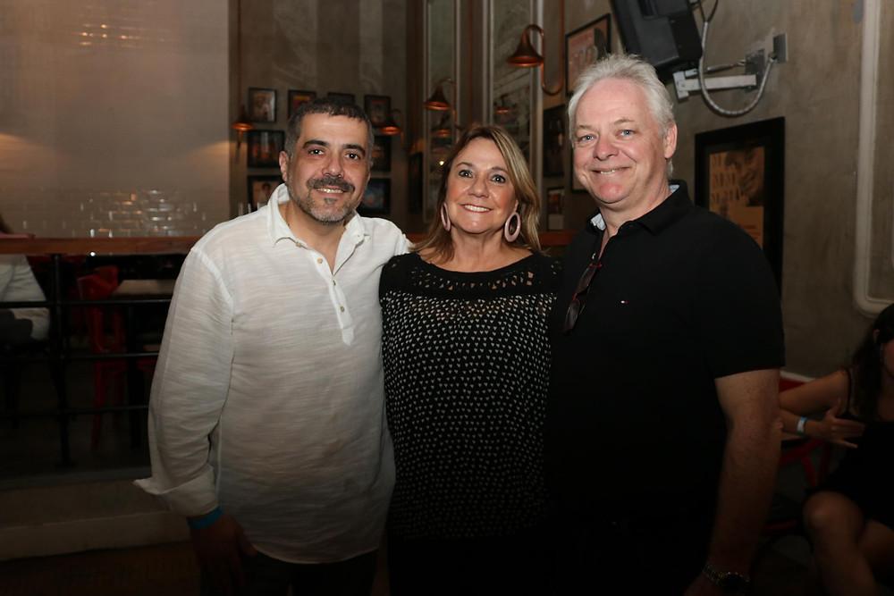 Cristina Faviere, Carlos Magalhães e Idalmo Pinheiro