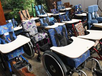 FBT fará a entrega recorde cadeiras de rodas adaptadas