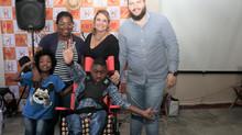 Iago precisava muito de nova cadeira de rodas nova, e conseguiu