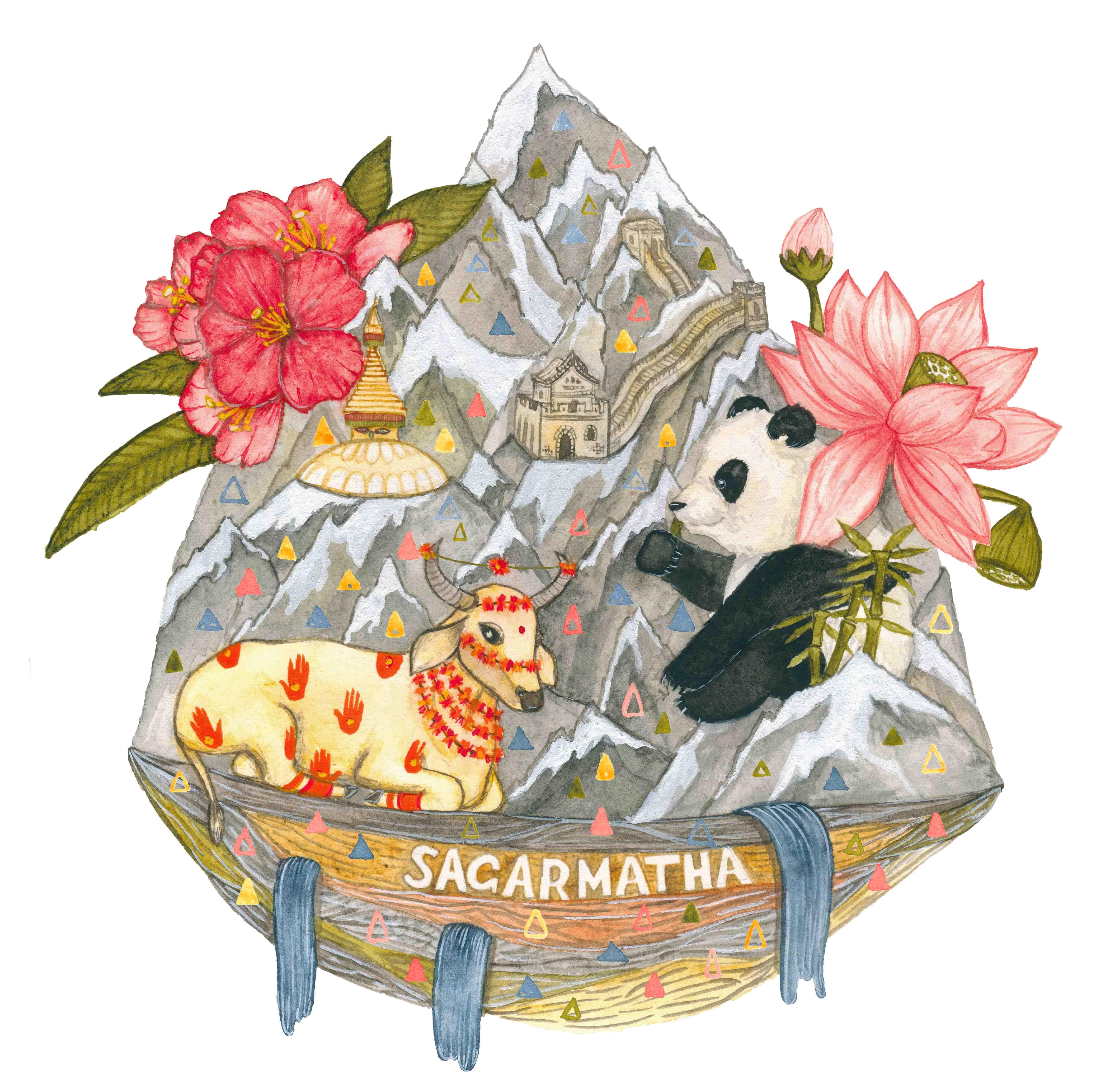 Tote Bag Illustration for Living Pro