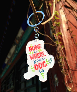 Home is Where Your Dog Is Back Side