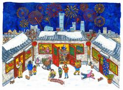 Chinese New Year Liuba Draws