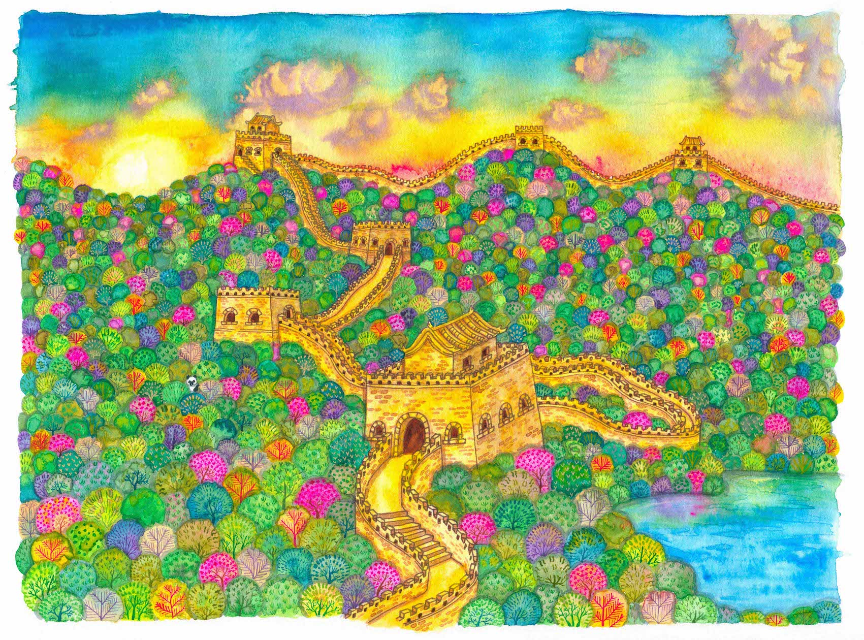 The Great Wall Liuba Draws
